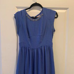 Rebecca Taylor Periwinkle Dress
